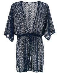 Brigitte Bardot - Lace Beach Dress - Lyst