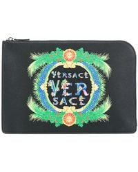 Versace - Beverly Palm Clutch Bag - Lyst