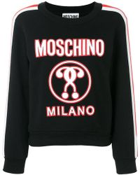 Moschino - Question Mark Sweatshirt - Lyst