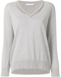 Fabiana Filippi - Loose Fit Knitted Top - Lyst