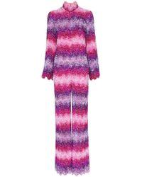 Ashish - X Browns Sequin Embellished Stripe Jumpsuit - Lyst