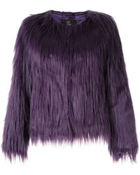 6bcea82e75 Unreal Fur - Faux Fur Unreal Dream Jacket - Lyst
