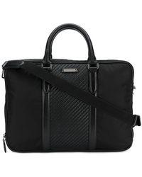 Ermenegildo Zegna Zaino Briefcase - Black