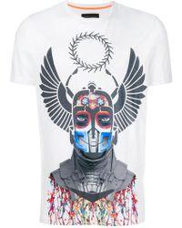 Frankie Morello   Graphic Print T-shirt   Lyst