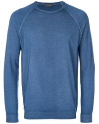 Drumohr - Classic Fitted Sweater - Lyst