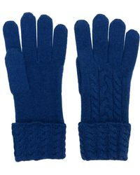 N.Peal Cashmere - Cable-knit Gloves - Lyst