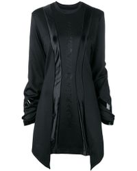 Philipp Plein - Oversized Sweater Dress - Lyst
