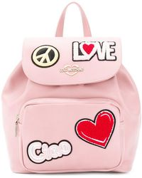 Love Moschino - Ciao Patch Backpack - Lyst