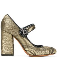 195 Desde € Etro Lyst De Mujer Salón Zapatos vw80mnN