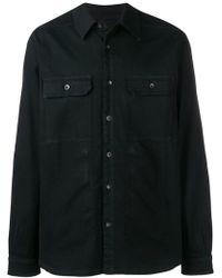 Rick Owens Drkshdw - Black Shirt Jacket - Lyst