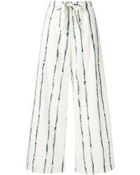 Aspesi - Striped Trousers - Lyst