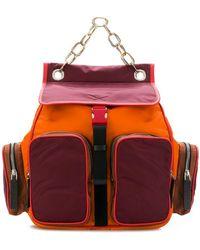 Marni - Colour-block Backpack - Lyst
