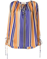 Mulberry - Striped Blouse - Lyst
