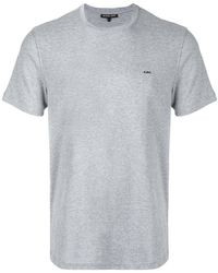 Michael Kors | Heathered T-shirt | Lyst
