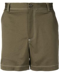 Versace Contrast Stitching Shorts