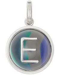 Burberry - Marbled Resin 'e' Alphabet Charm - Lyst