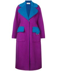 Emilio Pucci - Wide Lapeled Long Coat - Lyst