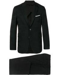 Neil Barrett - Camouflage Trim Suit Jacket - Lyst