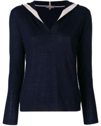 N.Peal Cashmere - Hooded Jumper - Lyst