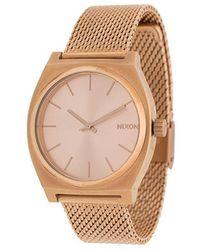 Nixon - Time Teller Milanese Watch - Lyst