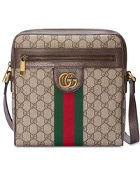 cc605e03a28 Gucci - Ophidia GG Small Messenger Bag - Lyst