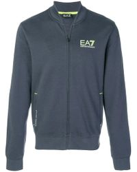 EA7 | Zipped Bomber Jacket | Lyst