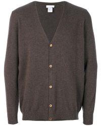Avant Toi - Knitted Cardigan - Lyst