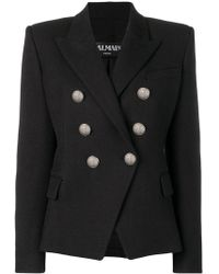 Balmain - Structured Fit Blazer - Lyst
