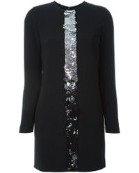 DSquared² - Central Sequin Mini Dress - Lyst