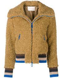 Marco De Vincenzo - Faux Fur Jacket - Lyst
