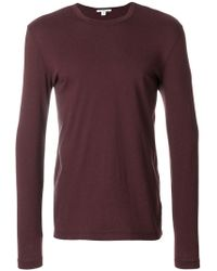 James Perse - Long Sleeve Shirt - Lyst