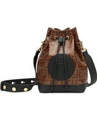 Fendi - Mon Trésor Small Bucket Bag - Lyst