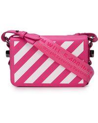Off-White c/o Virgil Abloh - Diagonal Striped Shoulder Bag - Lyst