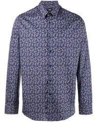 Fendi - Jaguar Printed Shirt - Lyst