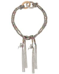Carolina Bucci - 'lucky Celebration' Tassel Bracelet - Lyst