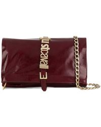 Just Cavalli - Logo Plaque Crossbody Bag - Lyst