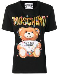 Moschino - Toy Print T-shirt - Lyst
