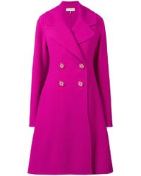 Emilio Pucci - Double-breasted Coat - Lyst