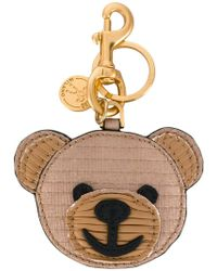 Moschino - Teddy Bear Key Ring - Lyst
