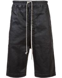 Rick Owens Drkshdw - Drop Crotch Shorts - Lyst