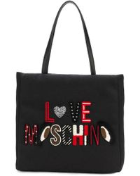 Love Moschino - Embroidered Tote Bag - Lyst