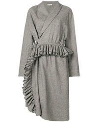 Lardini - Check Midi Dress - Lyst