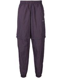 Balenciaga - Zipped Tracksuit Pants - Lyst
