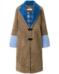 Saks Potts - Colour Block Coat - Lyst