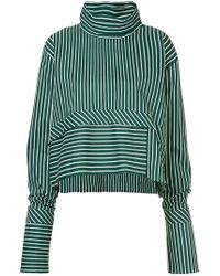 ANOUKI - Striped Oversized Blouse - Lyst