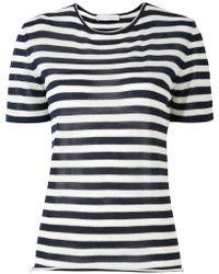 Giada Benincasa - Striped T-shirt - Lyst