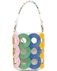 Sara Battaglia - Zoe Circle Bucket Bag - Lyst