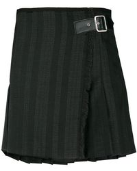 McQ - Front Buckle Skirt - Lyst
