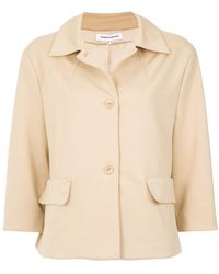 Gloria Coelho | Cropped Sleeves Coat | Lyst