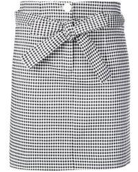 Robert Rodriguez - Gingham Mini Skirt - Lyst